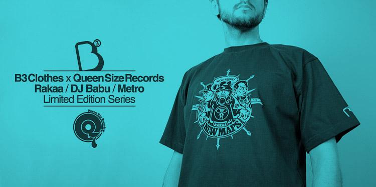 B3 Clothes. Konkurs Metro x Rakaa x DJ Babu