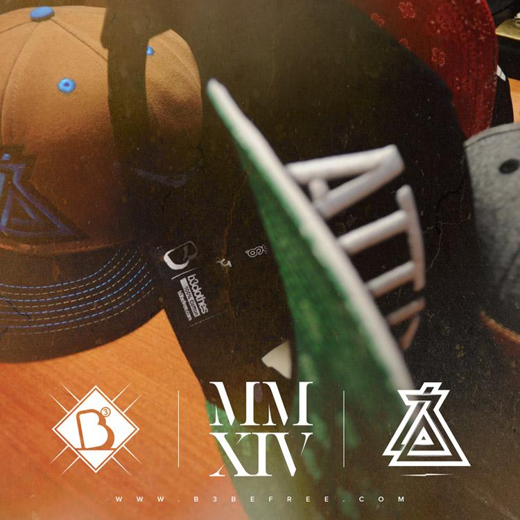 B3 Clothes. Caps MMXIV