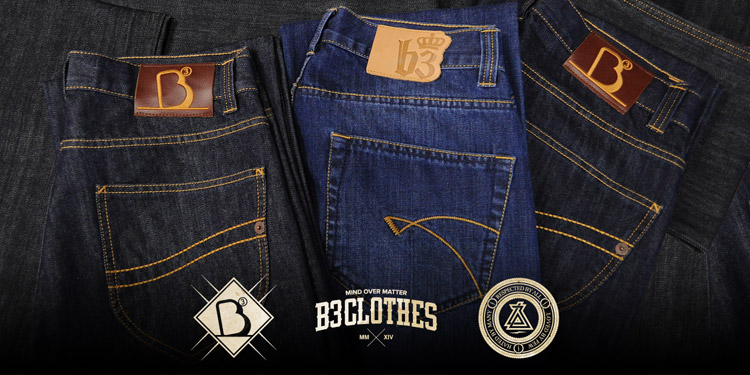 B3 Clothes. Nowy jeans 2014