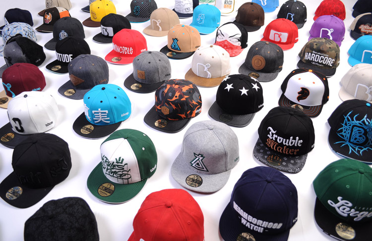 B3 snapbacks, strapbacks and fullcaps